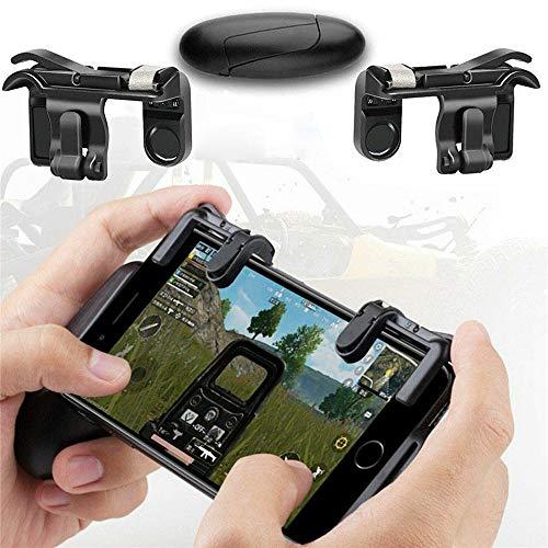 YEEWA Controlador de juegos móvil, disparar y apuntar Botones de abeto L1R1...