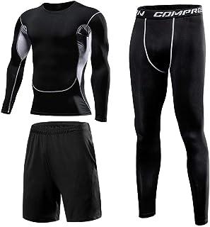 Bsadne 3 Men's Fitness Suit, Sportswear, Bottom Shirts +...