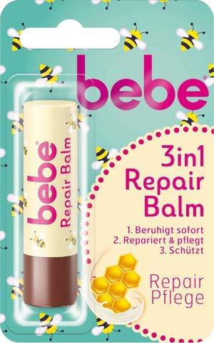 bebe young care Lippenpflegestift, 3in1 Repair 4.9 g