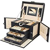 Best Kendal Jewelry Boxes - Homde Jewelry Box Necklace Ring Storage Organizer Synthetic Review