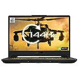 "ASUS TUF FX506 144Hz Full HD 15.6"" Gaming Laptop (Intel Core i5-10300H, Nvidia GeForce GTX 1660Ti 6GB Graphics, 8 GB RAM, 512 GB PCIe SSD, 4-Zone RGB Keyboard, Windows 10), Gray Metal"