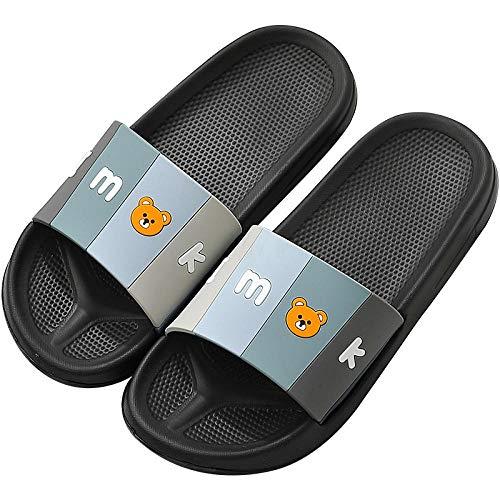 Hybad Heren Slip Op Slide Slippers, meisje Womens badkamer anti-slip sandalen klomp, Dames zomer plus grootte Flip Flops voor slaapkamer/slapers