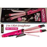 Chakaastu Nova Professional 2 In 1 Hair Curler & Hair Straightener With Temperature Control