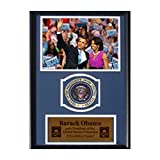 Encore Select Barack Obama and Michelle Obama with Presidential Commemorative Patch in 12