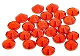 EIMASS Strass di Grado A con retro piatto per costumi, custodie del cellulare, oggetti personali-7747 - ss20 (4.8mm), 100 x Light Siam Rosso Brillante