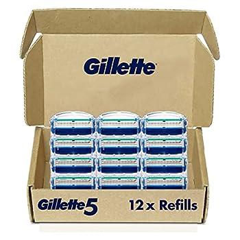 Gillette5 Men s Razor Blade Refills 12 Count