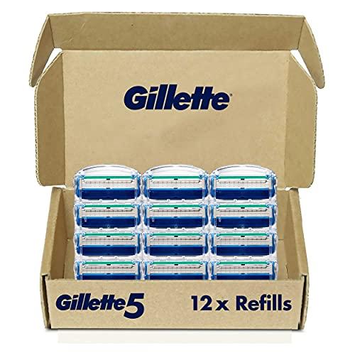 Gillette5 Men's Razor Blade Refills 12-Count Now $16.59 (Retail $24.99)