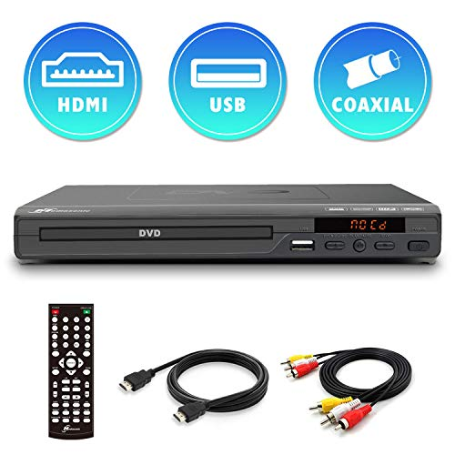 Why Should You Buy Mediasonic DVD Player – All Region DVD Players for Home with HDMI / AV Output, ...