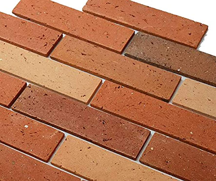 Natural Red Brick Sandwich Lightweight red Clay Bricks for Paver