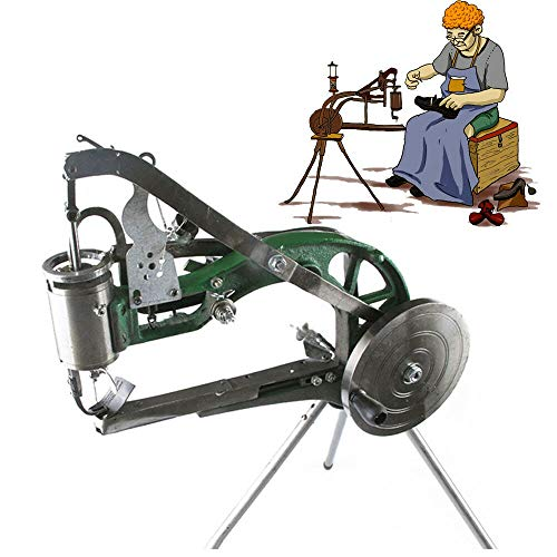 Best Buy! Shoe Repair Machine,Manual Industrial Shoes Making Sewing Machine Equipment Shoe Reairs Poratble New Leather Machine Manual Cobbler Repair Nylon Line Stitching Equip Rubber Raincoat Trousers