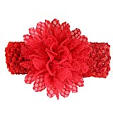 precocious girl ベビー ヘアバンド 髪飾り 赤 レッド