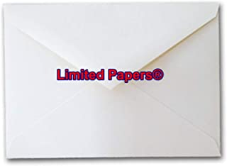 White Vellum 70# 4 Bar RSVP Envelopes (500)