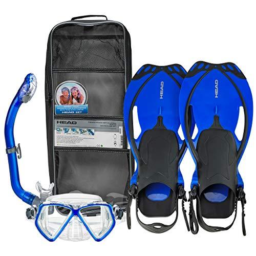 Head - Juego de buceo para niños (incluye aletas, gafas y tubo)...