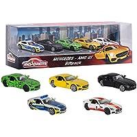Majorette 212053163–Mercedes AMG Gift Pack, vehículos en Miniatura, 5Unidades