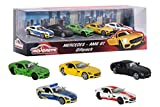 Majorette 212053163 - Mercedes AMG Geschenkset, Miniaturfahrzeuge, 5 Spielzeugautos, 7,5cm -