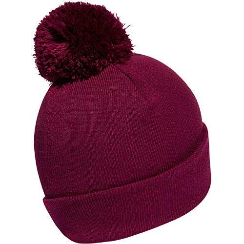 adidas Unisex AC Knit Adicolor Bobble Hat, Power Berry, M