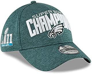 Philadelphia Eagles New Era Super Bowl LII Champions Midnight Green Shadow Tech 39THIRTY 3930 Flex Fit Hat