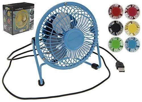 USB Ventilator Desk Ventilator Mini Ventilator Kanteltafel Ventilator Kleurrijk ORANJE