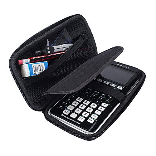 Hard Protective Carry Case for Texas Instruments TI-83 Plus Texas Instruments TI-84 Plus CE Graphing Calculator (Black)