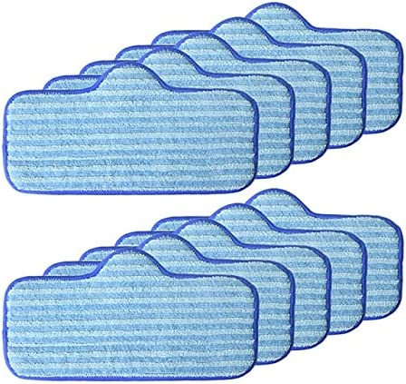 QYANGSHAN 4 6 8 10pcs Washable Choice Dup Mop Pads Microfiber 2021 for Cloth