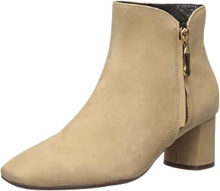 Women's Leather Luxury Ankle Boot with Zipper