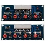 CHENBO 2pcs 24 Pins ATX Power Board Computer PC Power Supply Breakout Module Adapter 12V 5V 3.3V
