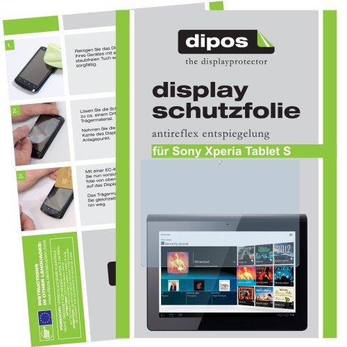 dipos I 2X Schutzfolie matt kompatibel mit Sony Xperia Tablet Z2 Folie Displayschutzfolie