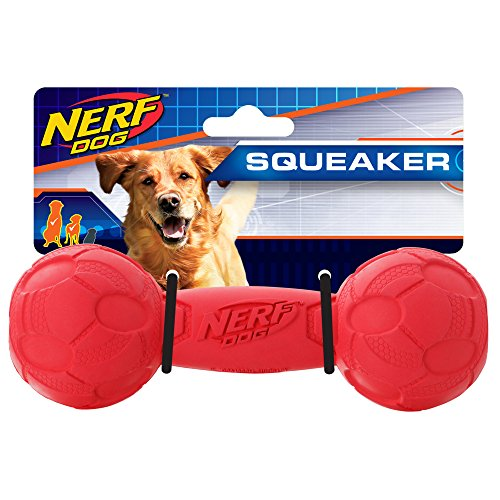 Juguete para Perro Nerf Squeak Barbell