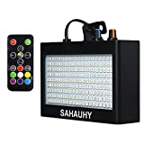 Strobe Lights,SAHAUHY 2019 35W 180 LEDs Super Bright Flash Stage Lighting with Remote