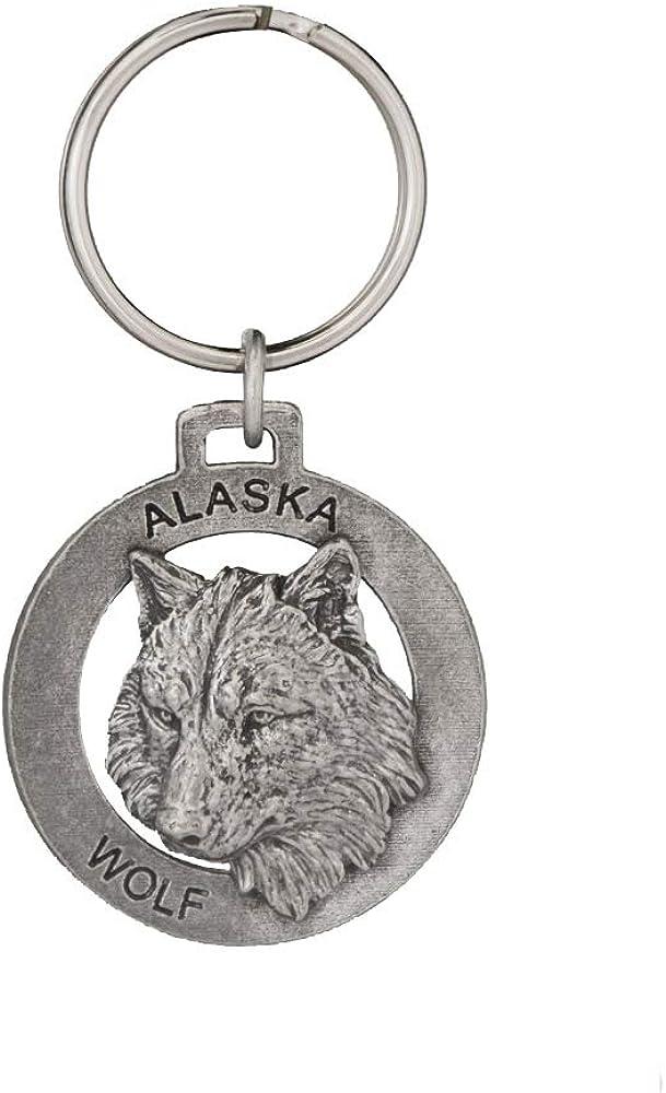 Alaska Wildlife Keychains - Bears, Fish, Whales, Moose, Salmon, Halibut, Wolf, Handmade in the USA