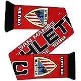 Athletic Bilbao Bufanda de fútbol de la Liga (100% acrílico)