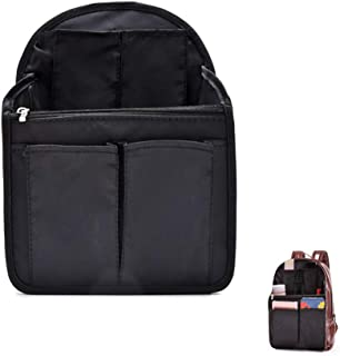 HOYOFO Backpack Organizer Insert Travel Backpack Purse Organizer for Mens and Womens Shoulder Bags, Black