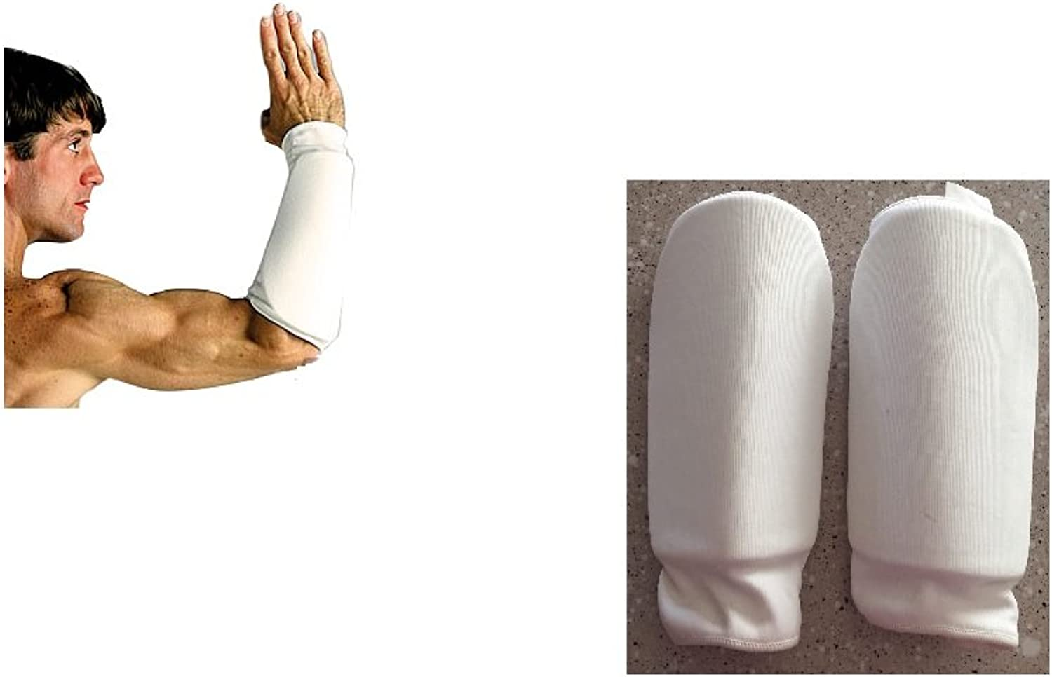 ProForce Forearm Guard  White Large  5 1 2  wide x 12  long 3 packs