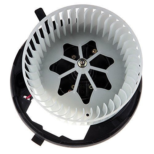 OCPTY A/C Heater Blower Motor ABS w/Fan Cage Air Conditioning HVAC Replacement fit for 2006-2013 Audi A3/2008-2014 Audi TT/2012-2016 Volkswagen Beetle/2011-2014 Volkswagen Golf