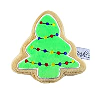 Midlee Christmas Sugar Cookie Plush Dog Toy