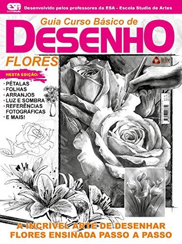 Guia Curso Básico de Desenho: Flores