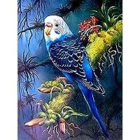 ダイヤモンド絵画動物フルスクエア5DDiyダイヤモンド刺繡鳥ラインストーンモザイククロスステッチ家の装飾