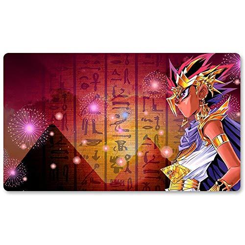Light of Egypt – Tapis de jeu Yu-Gi-Oh – Tapis de jeu de table de 60 x 35 cm Tapis de souris MTG pour Yu-Gi-Oh! Pokémon Magic The Gathering