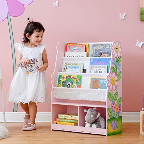 Fantasy Fields Magic Garden Libreria in Legno per Bambini e archiviazione Multi TD-13410MG