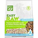 Only Natural Pet EasyRaw Human Grade Dehydrated Raw Dog Food Formula That Contains Real Wholesome Nutrition, Low Glycemic, Non-GMO - Lamb & Sweet Potato Flavor - 2 lb Bag (Makes 12 lbs)