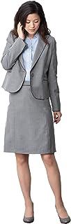 (ティセ)TISSE 46-761009 レディース スーツ オフィス 通勤 事務服 パイピングポイントジャケット&スカートスーツ