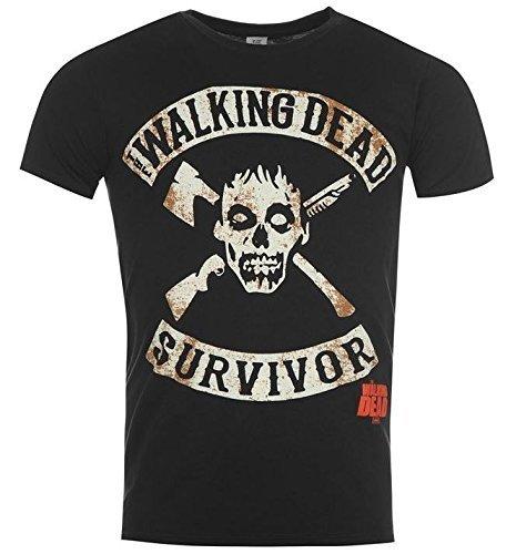 The Walking Dead T-Shirt Survivor Größe L Original Zombie Shirt