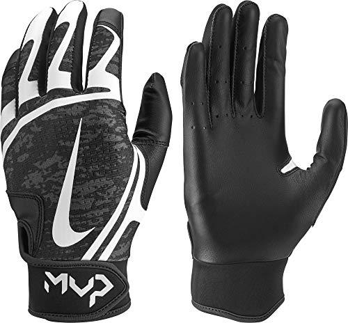 Nike Hyperdiamond Edge Baseball Handschuhe, Batting Gloves - schwarz/weiß Gr. XL