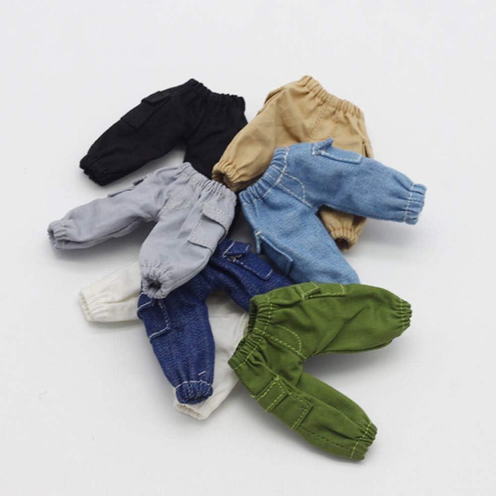 Yeaser Puppenjeans Kleidung f/ür OB11 1//12 BJD Puppen-Kost/üm 1 St/ück Zubeh/ör #A Spielzeug Weihnachtsgeschenk