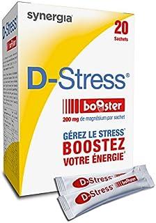D-Stress Booster - 20 sobrecitos - magnesio altamente asimilado. taurina y vitaminas