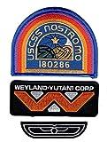 Alien Movie U.S.C.S.S. Nostromo Flight Wings Weyland...