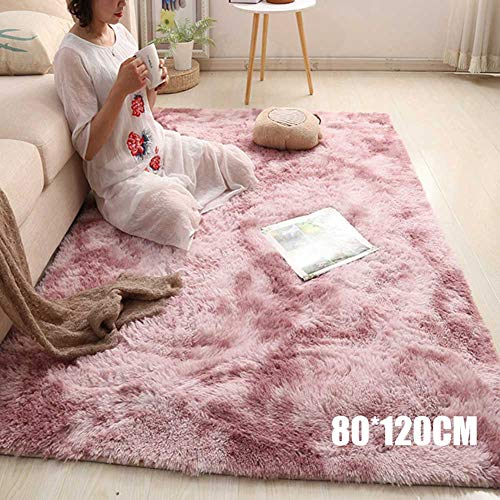PerGrate Gradient Carpet, Living Room Bedroom Carpet, Simple Nordic Carpet, Long Plush Soft Carpet rug, Warm Winter Carpet