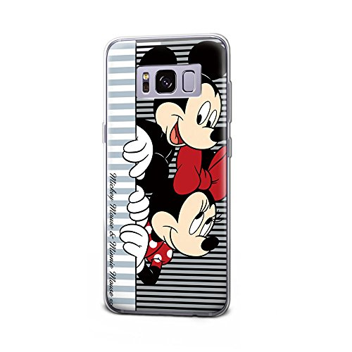 GSPSTORE Galaxy S8 Plus Case Cartoon Mickey Minnie Mouse Hard Plastic Protection Cover for Samsung Galaxy S8 Plus #2