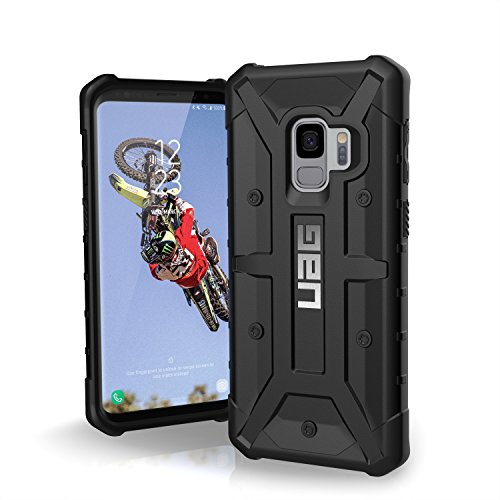 Urban Armor Gear Monarch Feather-Light Rugged Military Drop Tested Case for Samsung Galaxy S9 - Crimson
