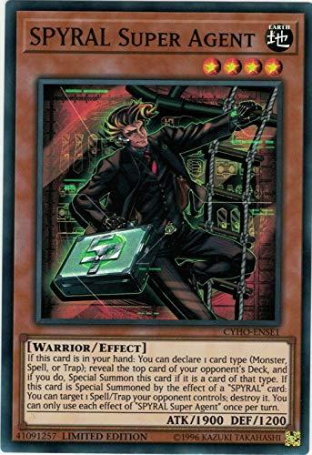 Yu-Gi-Oh! - SPYRAL Super Agent - CYHO-ENSE2 - Super Rare - Limited Edition - Cybernetic Horizon